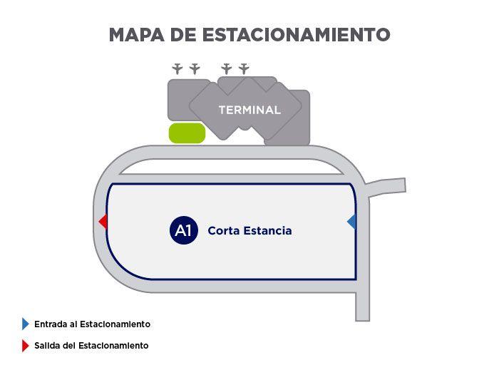 Estacionamiento Aeropuerto San Luis Potosí